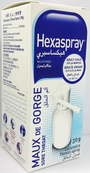 Hexaspray Throat Spray